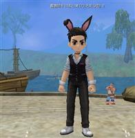 热血江湖兔男孩(男)披风图片