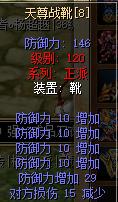 天尊战靴防10强8