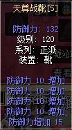 天尊战靴防10强5