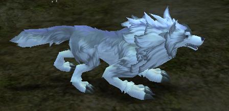 灵兽召唤符(银狼)外观图