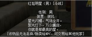 热血江湖红毯明星(男)男披风图片