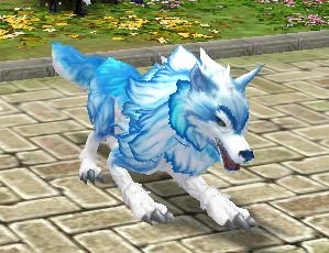 灵兽召唤符(雪狼)外观图