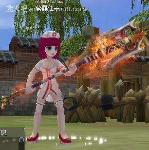 热血江湖护士女王(女)女披风图片
